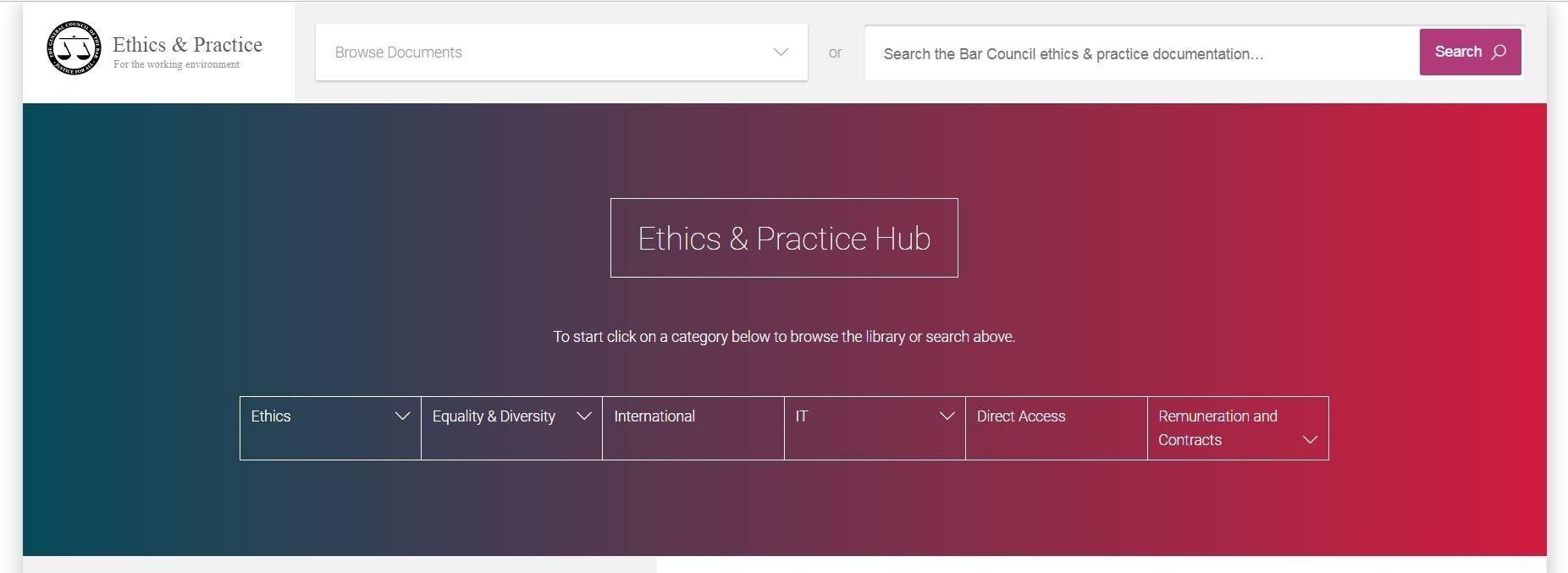 Ethics advice